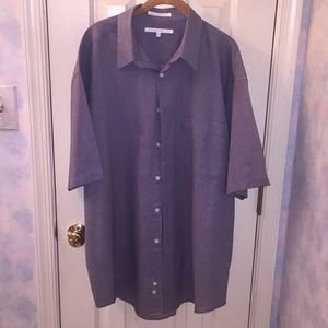 Perry Ellis XL Cotton Shirt Never Worn